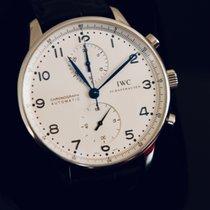 IWC Portuguese Chronograph occasion Cuir