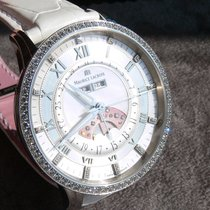Maurice Lacroix Masterpiece Phases de Lune Staal 41mm Parelmoer