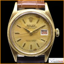 Rolex Oyster Perpetual Date-just  6605 Case 18K Yellow Gold