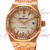 Audemars Piguet 15451OR.ZZ.1256OR.01 Rose gold Royal Oak Lady 37mm pre-owned United States of America, New York, New York