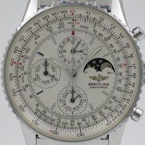 Breitling Montbrillant Olympus Steel 43mm Silver