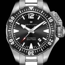 Hamilton Khaki Navy Frogman H77605135 new