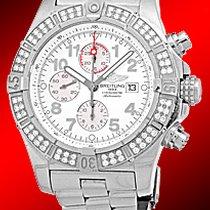"""Breitling """"Diamond Super Avenger Chronograph""""."""
