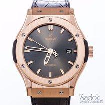 Hublot Classic Fusion 18k Rose Gold Automatic Watch 542OX7081L...