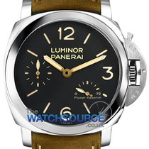 Panerai Luminor 1950 3 Days Power Reserve Steel 47mm Black Arabic numerals United Kingdom, Hemel Hempstead, Hertfordshire