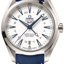 Omega Seamaster Aqua Terra Titanium 43mm White Arabic numerals