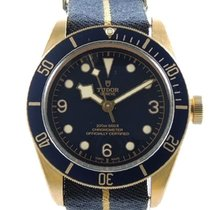 Tudor Heritage Black Bay Edition Bucherer Blue