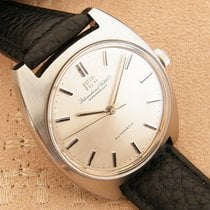 IWC vintage automatic Cal 854B Stainless Steel from 1971