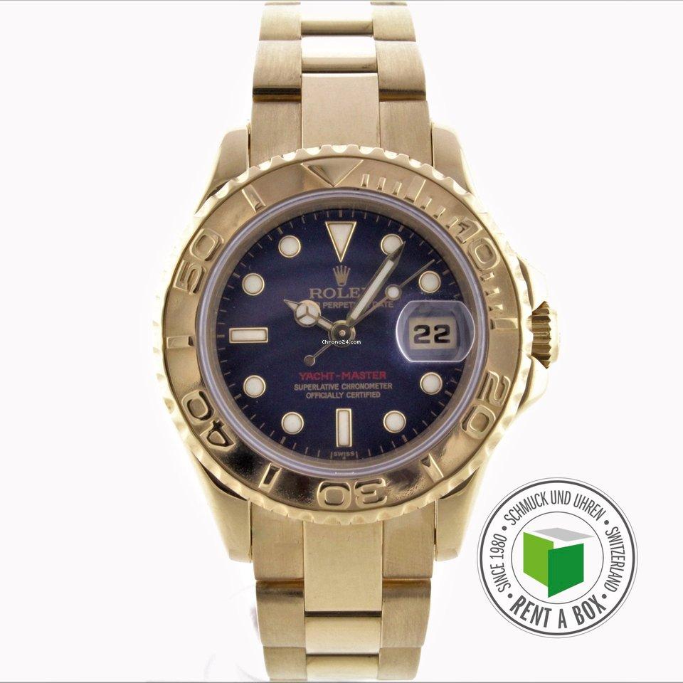44bc30b18a4 Rolex Yacht-Master - Todos os preços de relógios Rolex Yacht-Master na  Chrono24