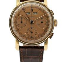 L.Leroy Chronograaf Handopwind 1960 Goud