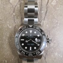Rolex Automatic 2009 pre-owned GMT-Master II Black