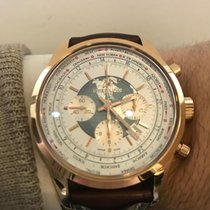 Breitling Transocean Chronograph Unitime Rose gold 46mm White United States of America, New York, New York