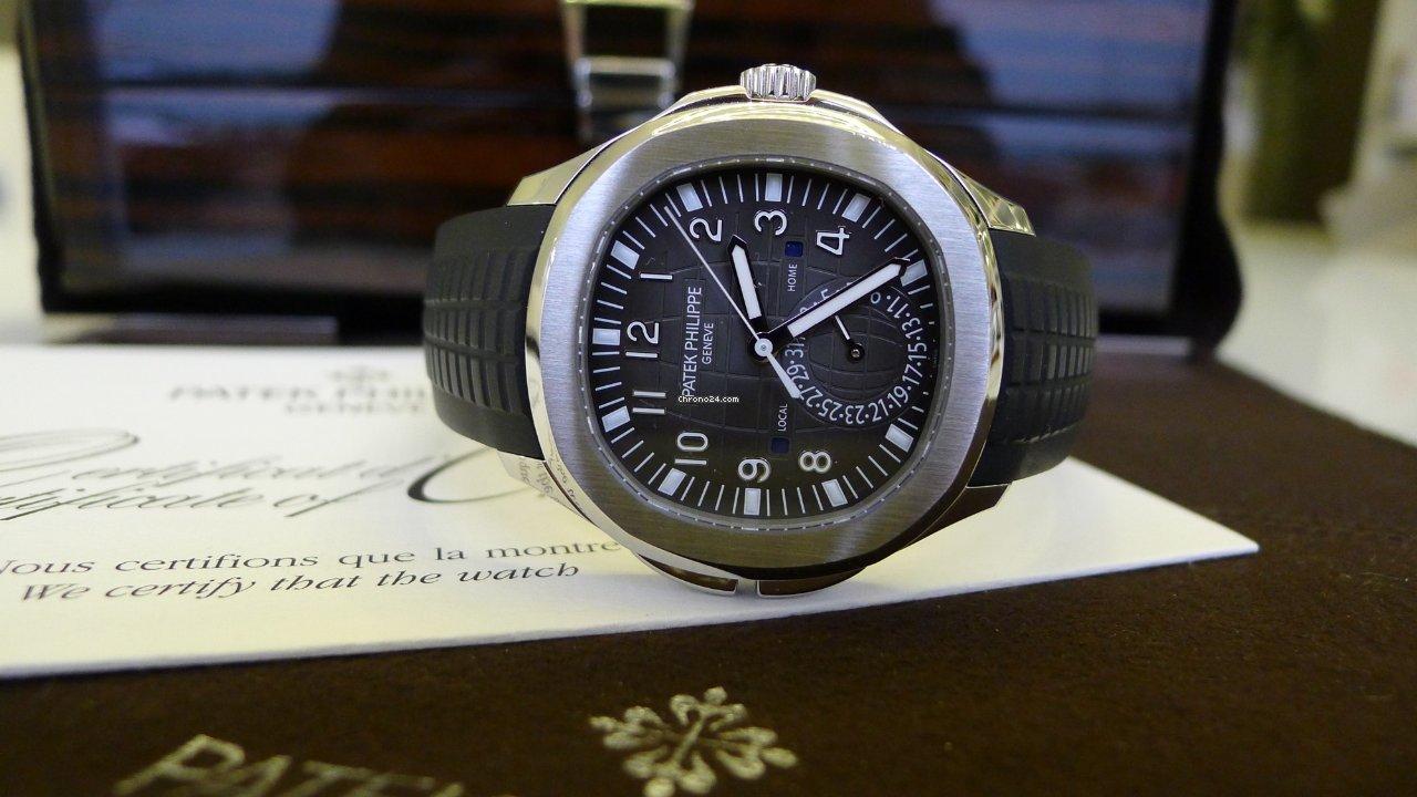 Patek Philippe Aquanaut Travel Time 5164