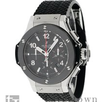 Hublot Chronograph 44mm Automatic pre-owned Big Bang 44 mm Black