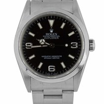 Rolex Explorer Steel 36mm Black Arabic numerals United States of America, New York, Lynbrook