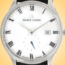5e5997aa8e2 Maurice Lacroix Masterpiece Small Seconde Steel 40mm White Roman numerals  United States of America