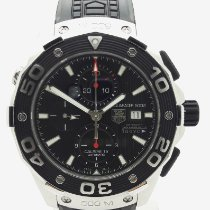 TAG Heuer Aquaracer 500M Steel 46mm Black No numerals