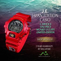 Casio G-Shock ONE PIECE LUFFY DW6900 nov