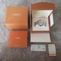 Ebel 1911 Discovery Steel 45mm White