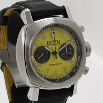 Panerai Ferrari Steel 45mm Yellow Arabic numerals