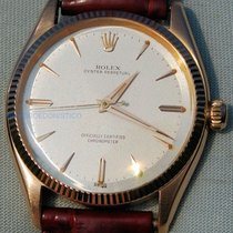 Rolex Or jaune 34mm occasion Oyster Perpetual