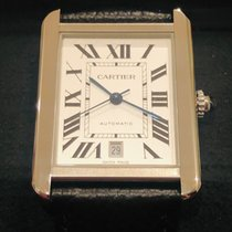 Cartier Tank Solo Steel 31mm Silver Roman numerals