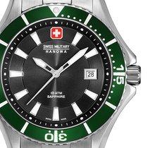 Swiss Military Steel 46mm Quartz 06-5296.04.007.06 new