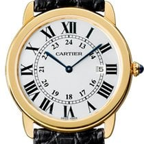 Cartier Ronde Solo de Cartier Yellow gold 36mm Silver Roman numerals United Kingdom, London