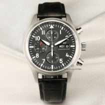 IWC Pilot Chronograph Steel 43mm United Kingdom, London