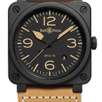 Bell & Ross BR 03-92 Ceramic Ceramic Black United States of America, New York, Brooklyn