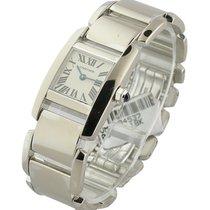 Cartier W650029H Tankissime - Small Size - White Gold on Bracelet