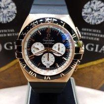 Omega Constellation Double Eagle chronograph rose