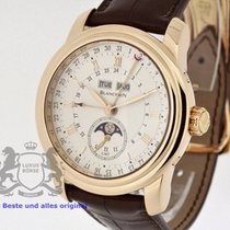 Blancpain Le Brassus GMT solid 18K Rose Gold Box & Swiss...