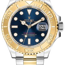 Rolex Oyster Professional Yacht-Master 40mm 18K Yellow Gold &...