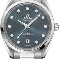 Omega Seamaster Aqua Terra Steel 38.5mm Grey