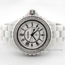 Chanel Women's watch J12 33mm Quartz pre-owned Watch only 2014
