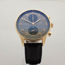 IWC Portuguese Chronograph Rose gold 40.9mm Grey Canada, Montreal
