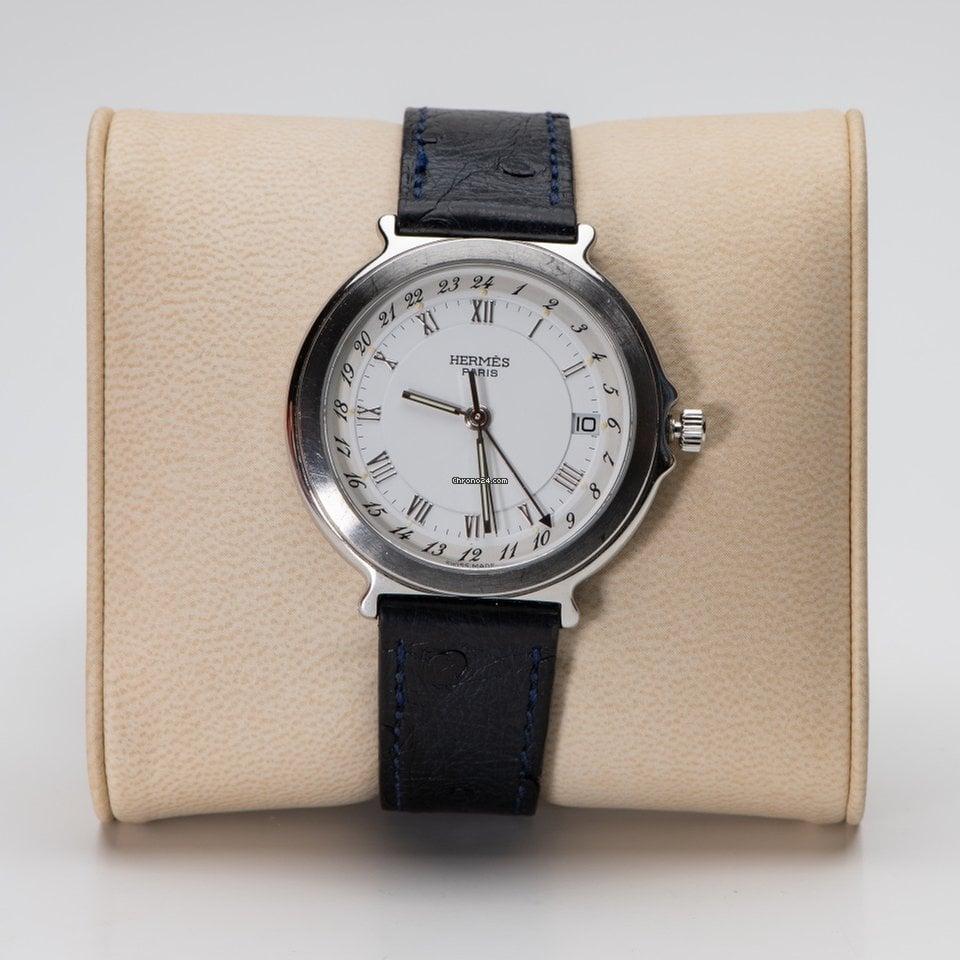 Montre Hermès d occasion   Acheter Hermès d occasion pas cher - Chrono24 093ea994e99