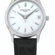 百達翡麗 Calatrava, Ref 3998 Platinum Wristwatch With Date Made In...