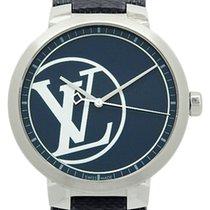 Louis Vuitton Tambour Slim Qa001 100pcs Limited Quartz Men's...