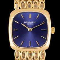 Patek Philippe Golden Ellipse Yellow gold 20mm Blue No numerals United Kingdom, London