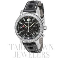 Chopard pre-owned Automatic 36mm Black Sapphire Glass