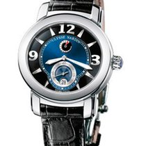 Ulysse Nardin Blue pre-owned Macho Palladium 950