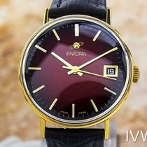 Enicar 33mm Manual winding 1965 pre-owned Bordeaux