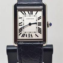 Cartier pre-owned Quartz 31mm White Sapphire Glass 3 ATM