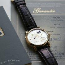 A. Lange & Söhne Gult guld 38.5mm Manuelt 101.021 brugt