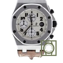 Audemars Piguet Royal Oak Offshore Chronograph Ocel 42mm Stříbrná Arabské