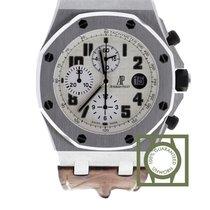 Audemars Piguet Royal Oak Offshore Chronograph Acier 42mm Argent Arabes