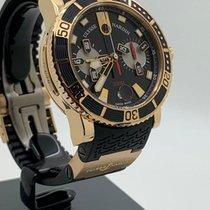 Ulysse Nardin Maxi Marine Diver Rose gold 42mm Black Arabic numerals