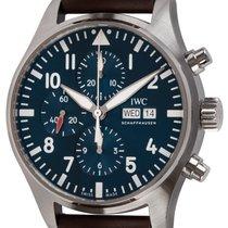 IWC Pilot Chronograph Steel 43mm Blue Arabic numerals United States of America, Texas, Austin